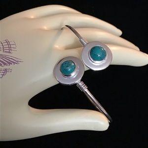 Turquoise Cuff Bangle Bracelet